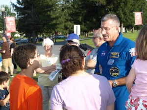 NASA astronaut speaks with StarFest attendees
