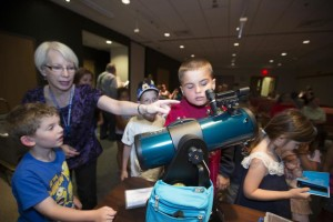 Adopt-a-library telescope