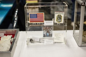 One Giant Leap had many items on display — at New England Air Museum.