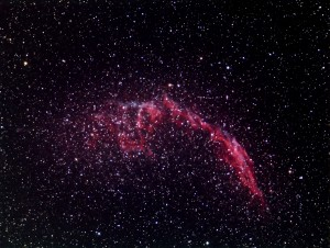 Eastern Veil Nebula by Bruce Card