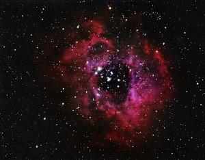 Rosette Nebula by Bruce Card
