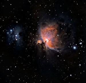 Orion Nebula by Chris Martel
