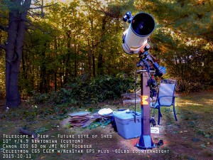 Charlies S. backyard Observatory
