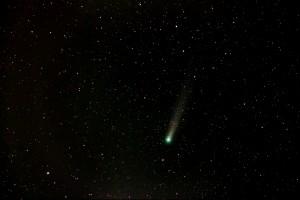 Comet Lovejoy by Ken Cleveland