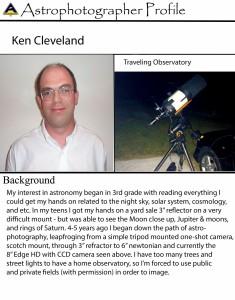 Ken Cleveland Photographer Profile