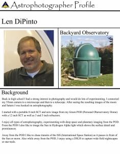 Len Dipinto - Photographer Profile